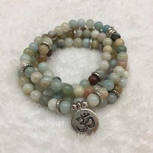 Opal Mala Beads Meditation Bracelet